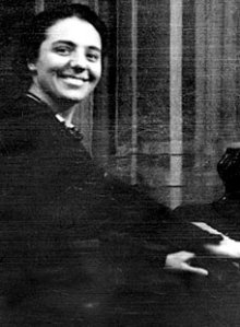 Alice Herz-Sommer prior to WW II.