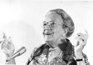 Joyful Corrie ten Boom in her later years.