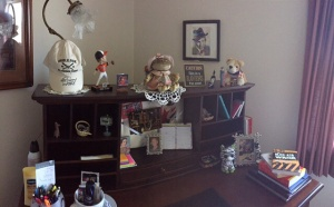 Here's Kate's Writing Room... Where is Kate??